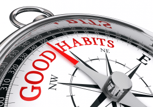 Good habits compass
